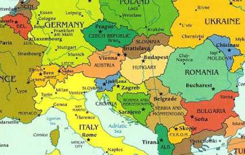 Harta Romania Gazeta De Dimineata